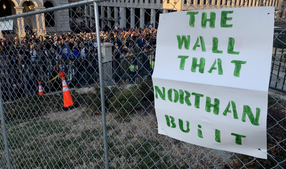 The wall that Northam built