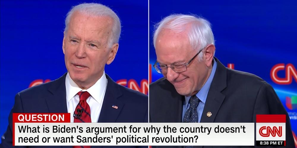 Joe Biden Routs Bernie Sanders in Florida's Democrat Primary