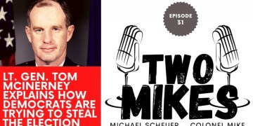 Lt Gen Tom McInerney explains Hammer the Democrats voter fraud superweapon