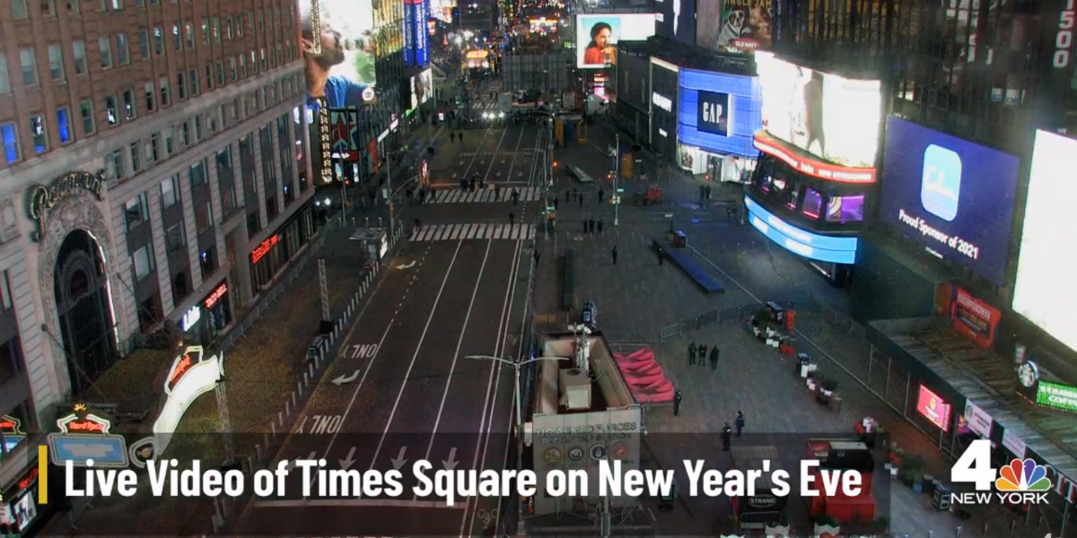 Times Square New York City New Years Celebration