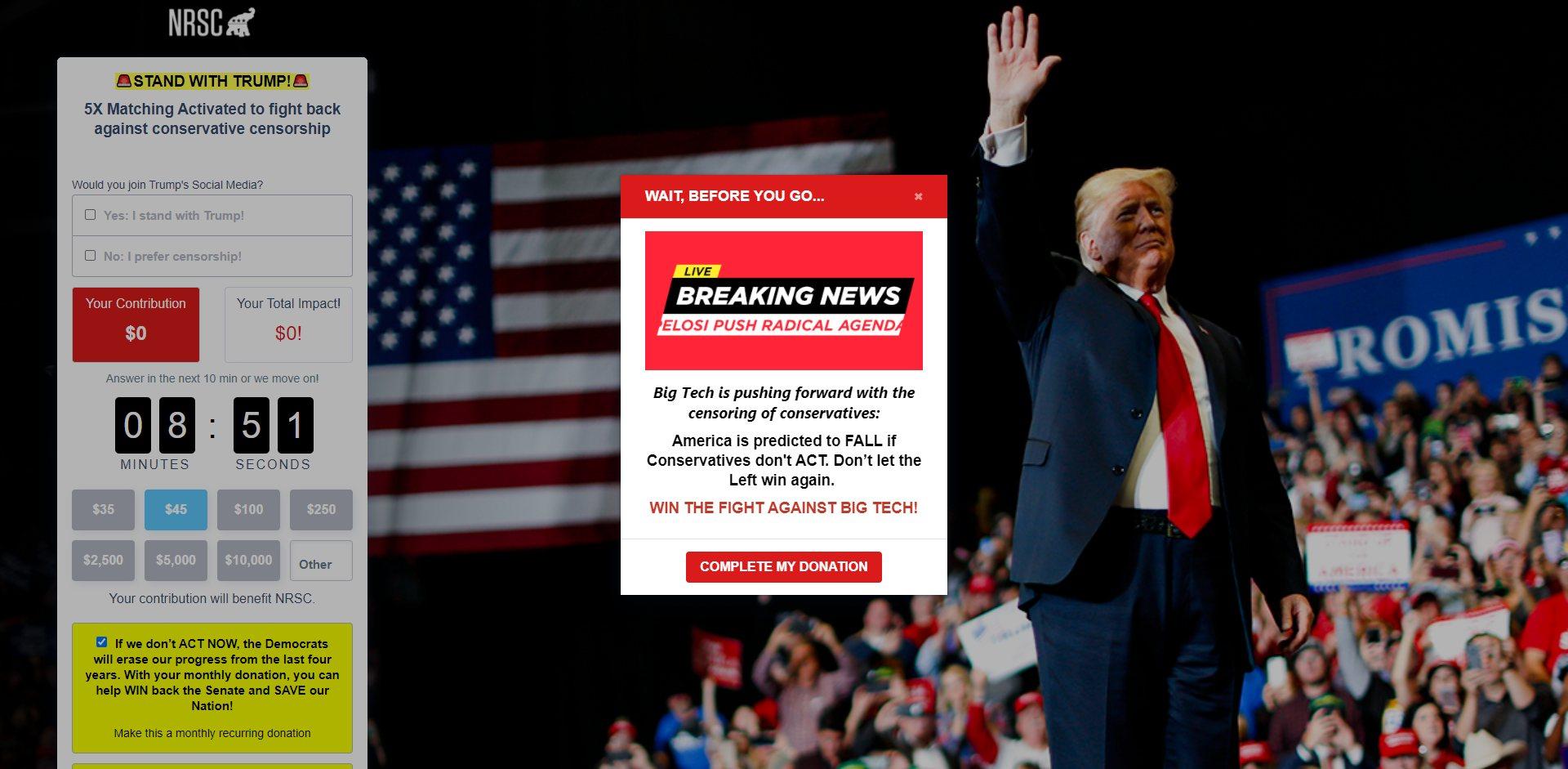NRSC Lies About Trump