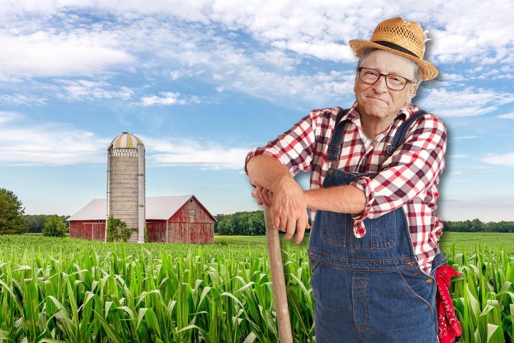 Farmer Bill Gates