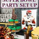 Score! A Classy and Easy Super Bowl Party Set Up