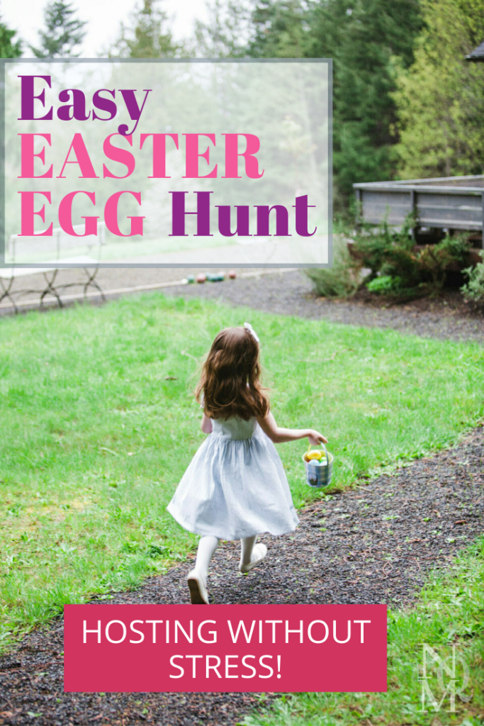 easy easter egg hunt running
