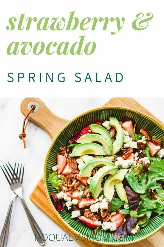 Strawberry & Avocado Spring Salad Recipe!