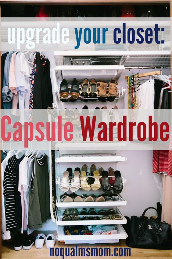 How to upgrade your closet with a Capsule Wardrobe