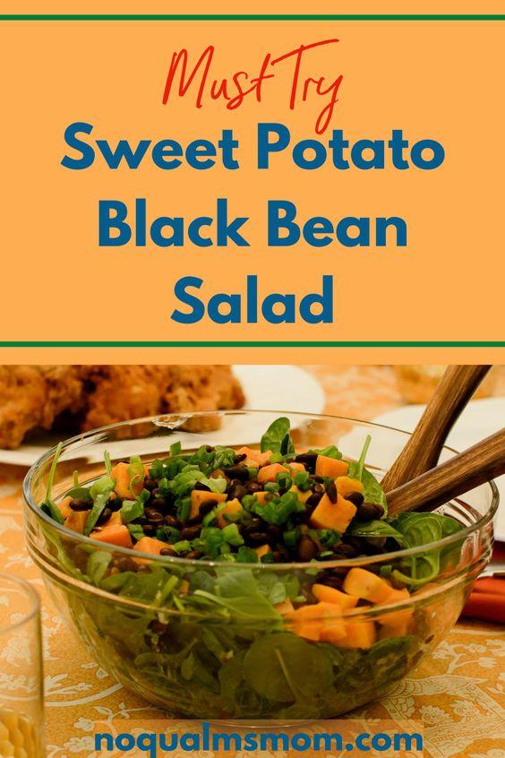 Easy Sweet Potato Black Bean Salad Recipe