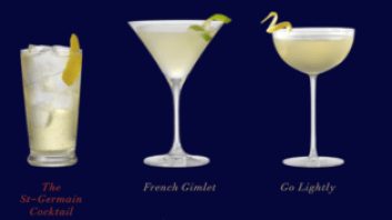 St. Germain Cocktails