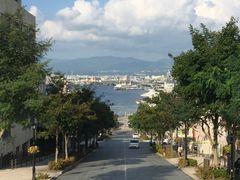 八幡坂の景色