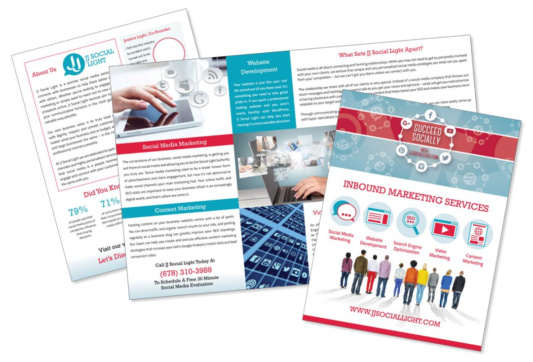 JJ Social Light Large Brochure