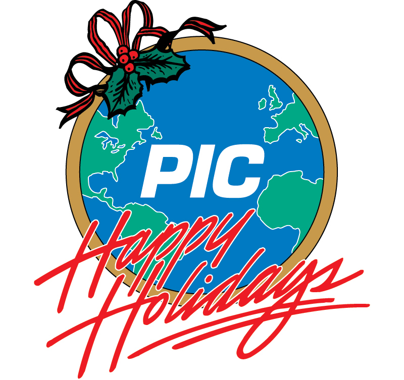 PIC Holiday Logo Design