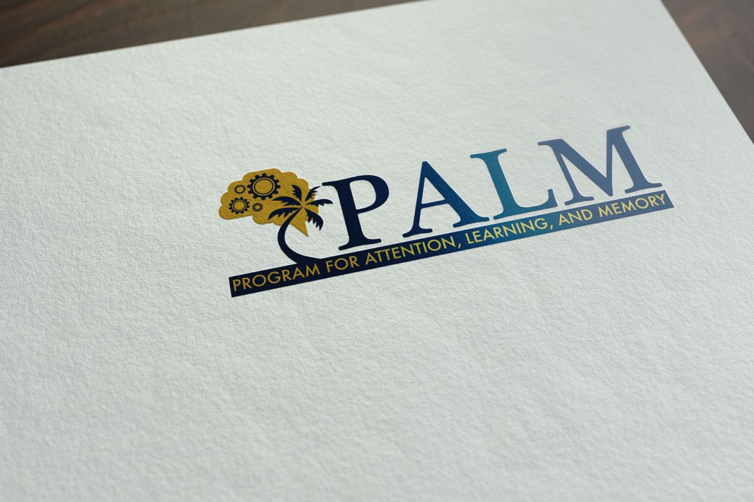 Palm Logo Letterhead Foil Printing