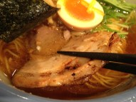 Pork in the yuzu ramen