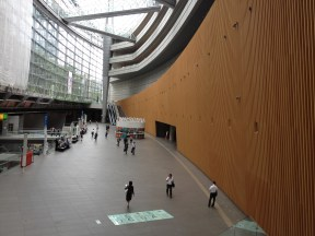 Ground floor of the Tokyo International Forum