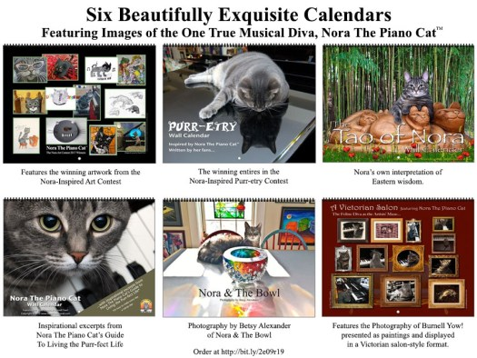 Six Cool Nora Calendars