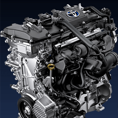 MOTOR HÍBRIDO DE 1.8L   Con tecnología híbrida auto-recargable, para darte un mayor desempeño, ahorro de combustible y cuidado del medio ambiente.