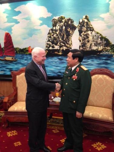 McCain in Vietnam