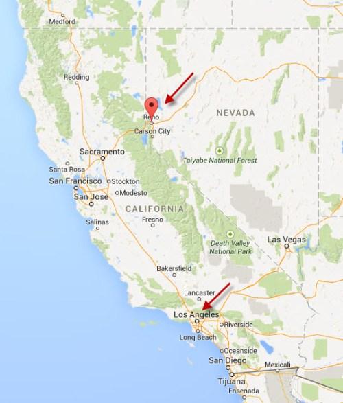 Map Reno