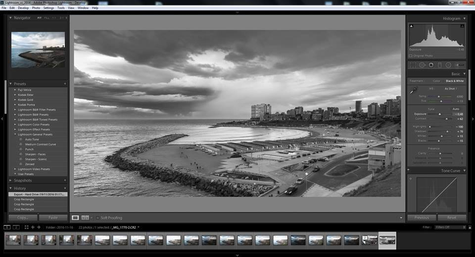 Lightroom curso mar del plata