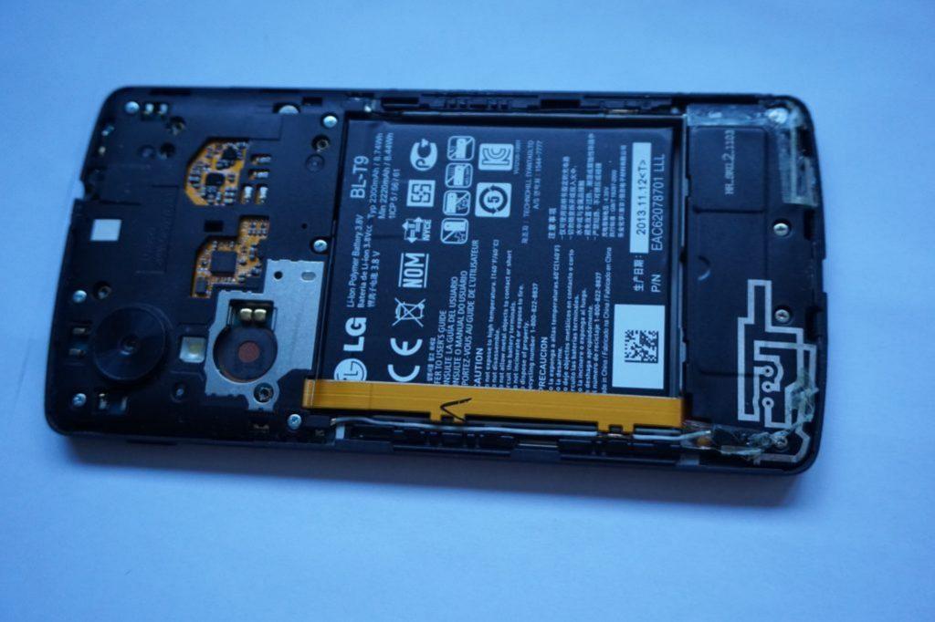 Nexus 5 back