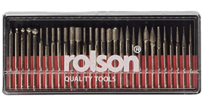 Rolson 24680 - Fresas para Dremel