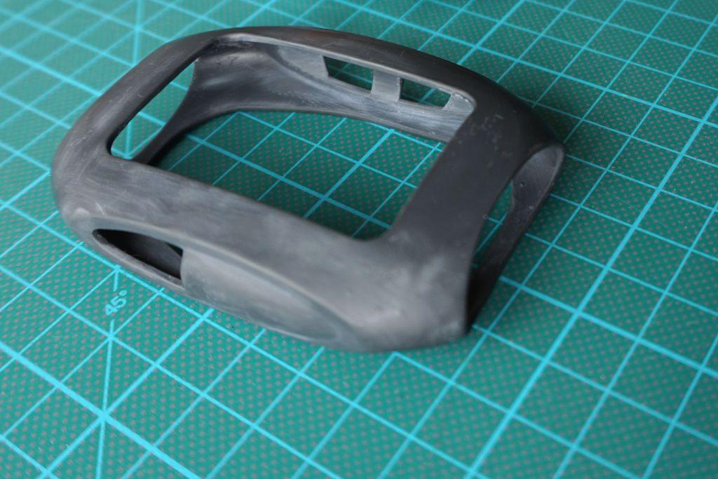 Funda medidor prototipo en resina