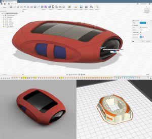 Diseño e impresión 3D funda