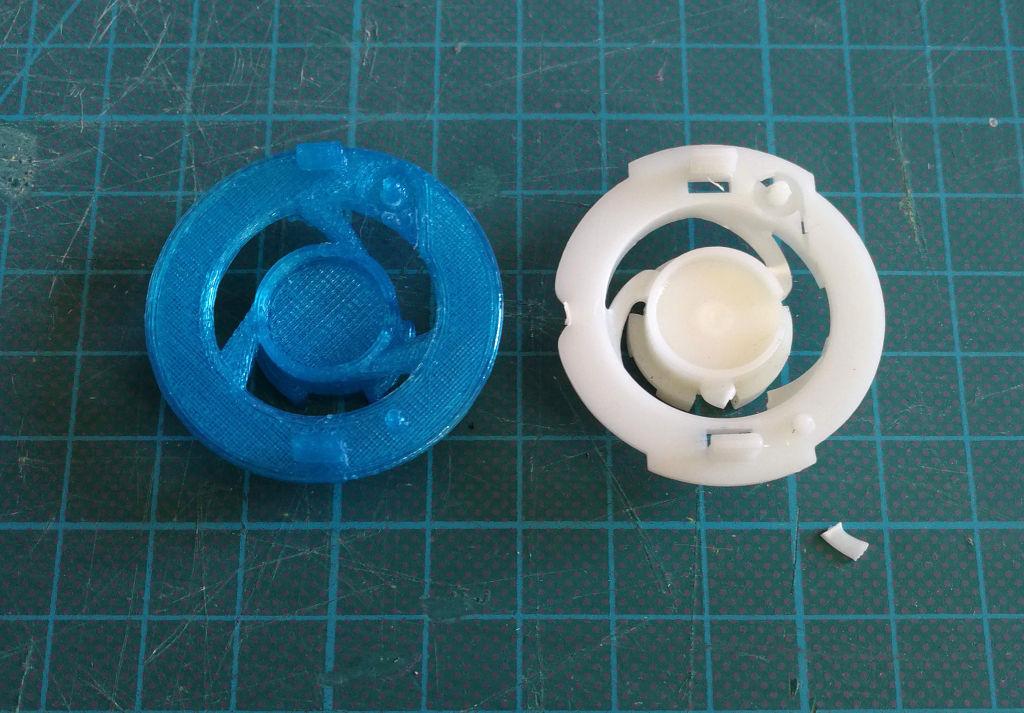 Pieza plástico Fitbit Aria