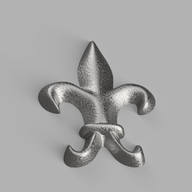 Flor de Lys Fusion 360 Form