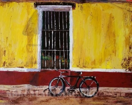 """On the Streets of Cuba"" by Leslie Wentworth"