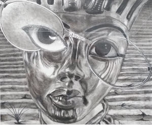 Through the Eyes of Tut by Carla Rake Nabity
