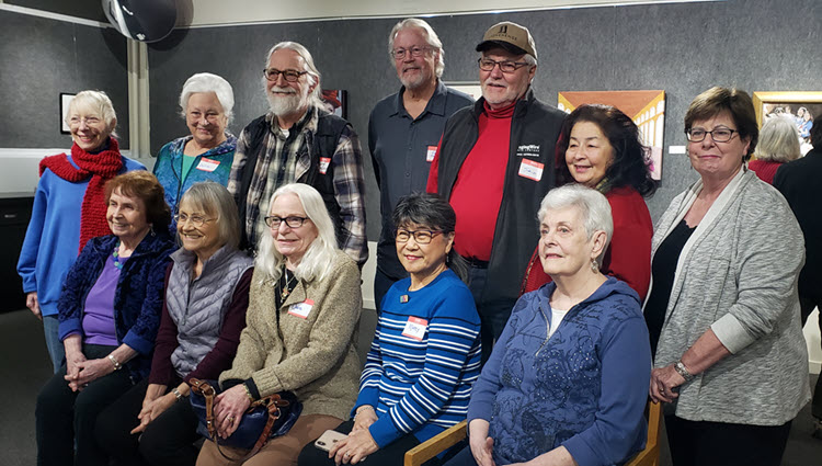 NCA Artist Standing Recipients - group photo