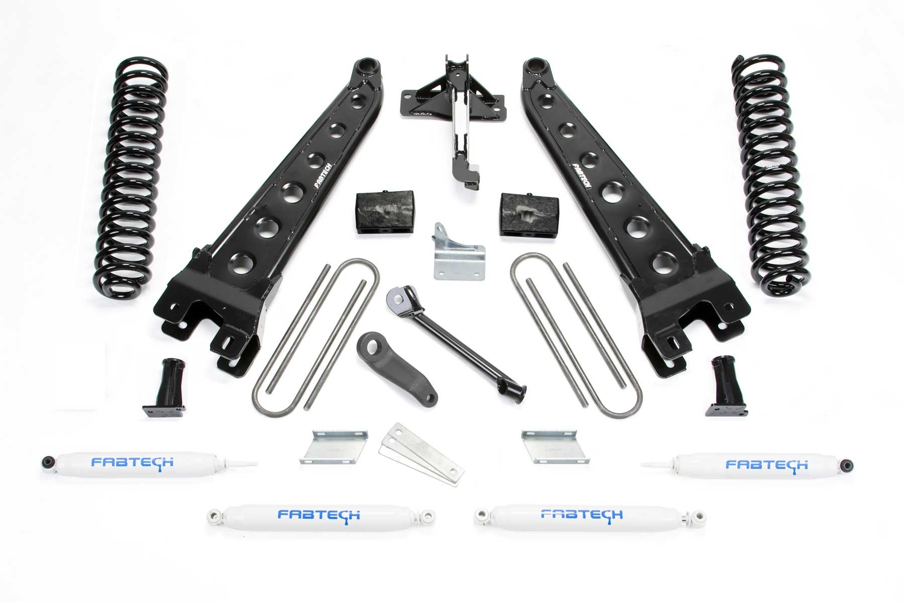 Fabtech 13 Ford F450 F550 4wd 10 Lug Chassis Cab