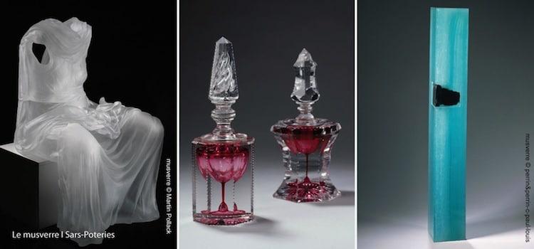 collections du musée du verre musverre de sars-poteries