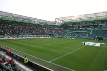 Blick ins Weststadion