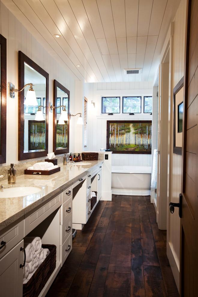22 Farmhouse Bathroom Ideas That Will Astonish You on Farmhouse Bathroom  id=86705