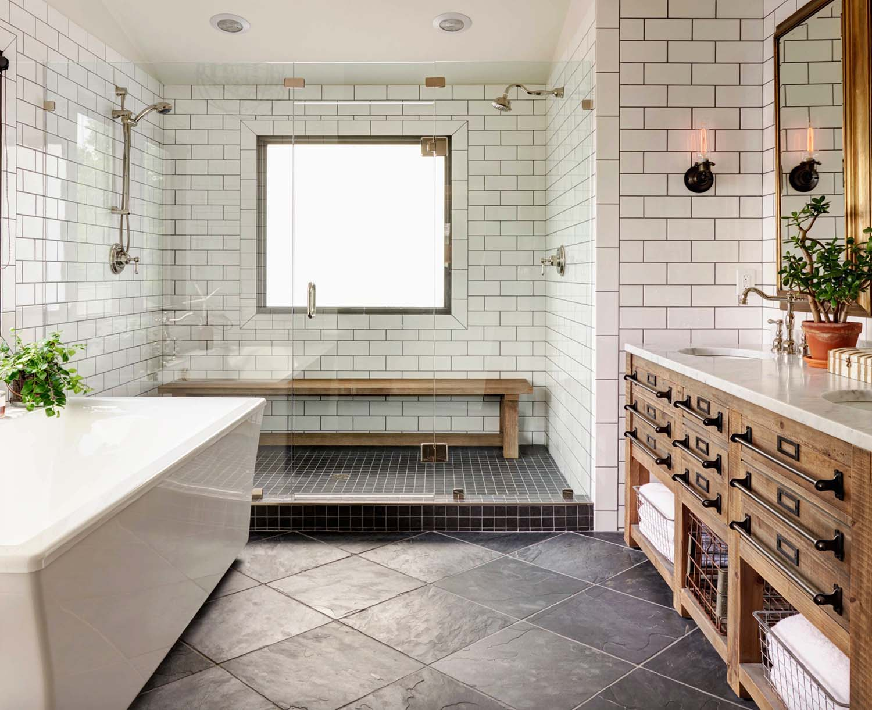 22 Farmhouse Bathroom Ideas That Will Astonish You on Bathroom Ideas Modern Farmhouse  id=32191