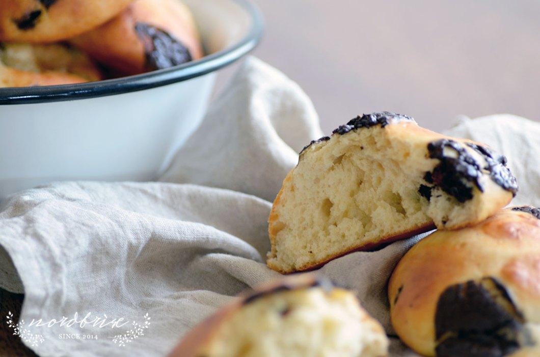 soft chocolate buns quarkbrötchen rolls brötchen