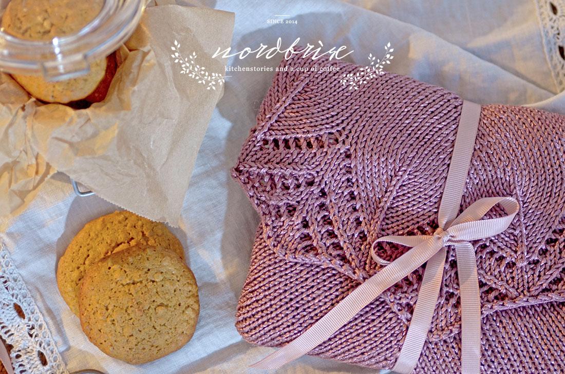 granny's lace shawl pumpkin pie cookies recipe nordbrise