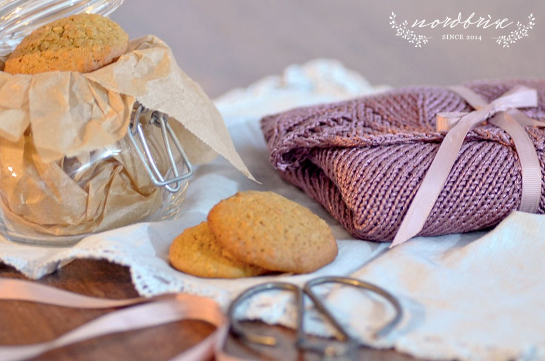 granny's lace shawl pumpkin pie cookies recipe nordbrise