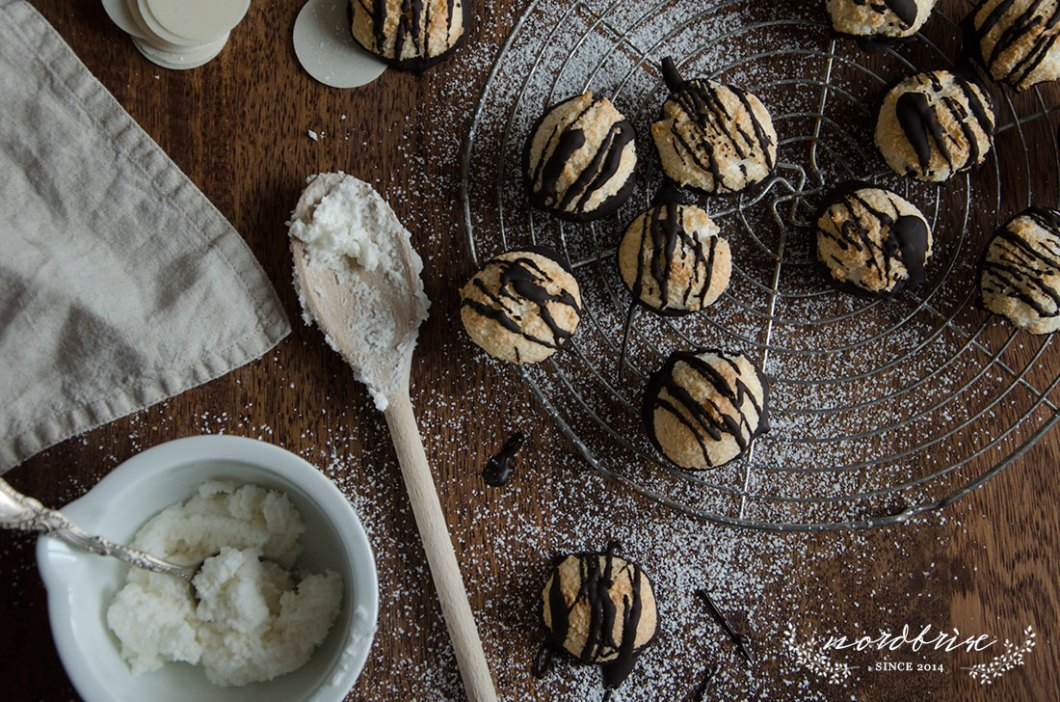 kokosmakronen macaroons coconut recipe nordbrise