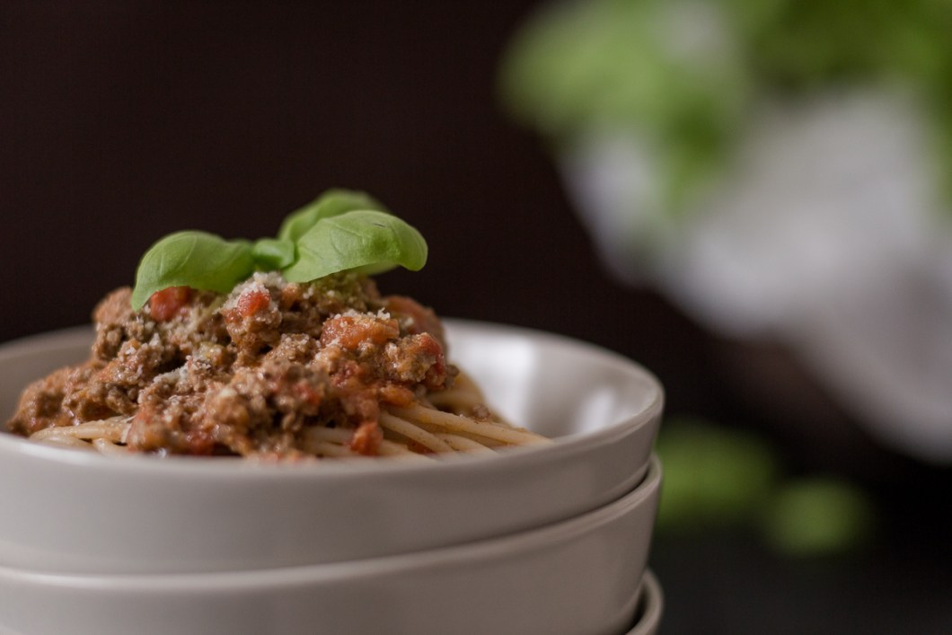 Laktosefreies Rezept für Spaghetti Bolognese aus der Nudelküche von nordbrise.net Foodblog & Foodfotografie | Lactosefree Recipe for Spaghetti Bolognese by nordbrise.net