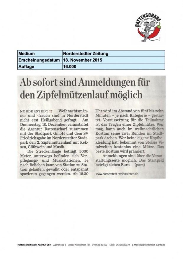 1 Norderstedter Zeitung 18 November 2015