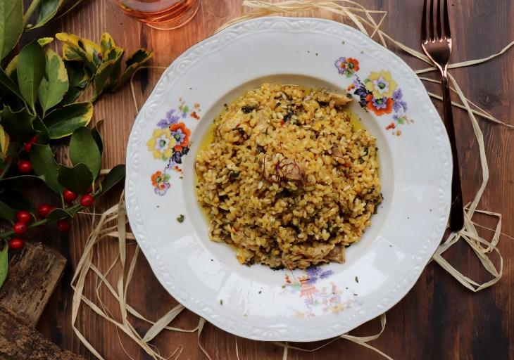 risotto-ortiche-castelmagno-porcini