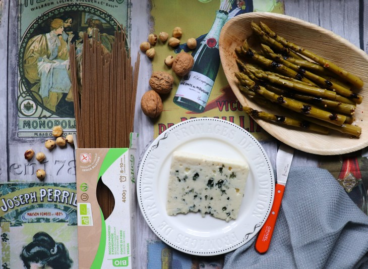 ricetta-pasta-grano-saraceno-e-roquefort