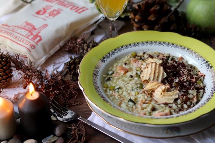 ricetta hygge con riso e salmone