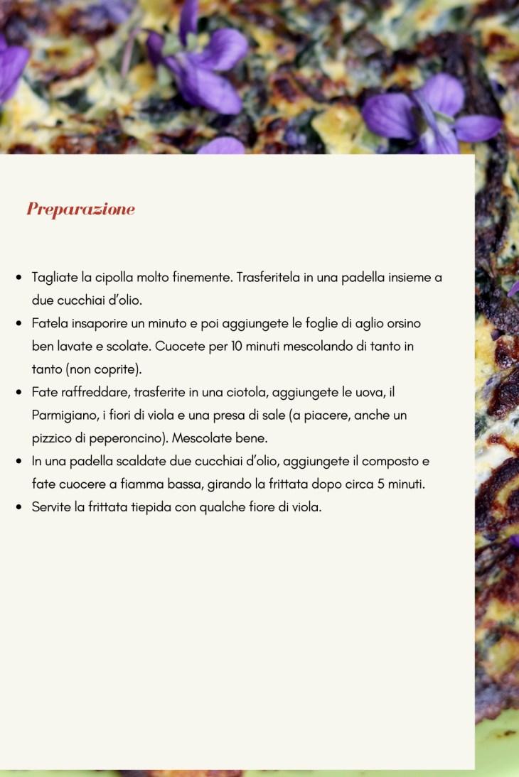 frittata aglio orsino 2