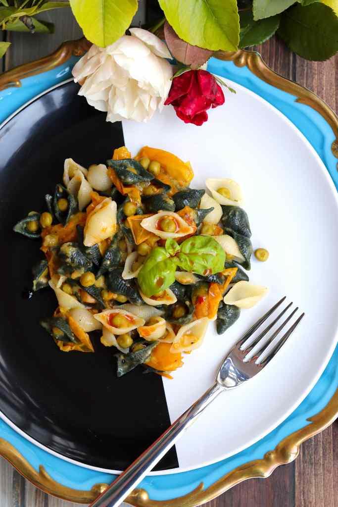 pasta senza glutine con toma piccante