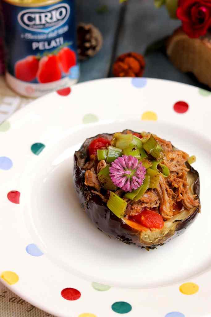 cirio ricetta con melanzane e pomodoro