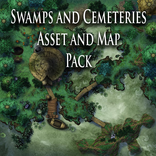 Swamps and Cemeteries et and Map Pack - Nord Games on